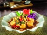 Fried Bean Curd with Thai Basil Leaves & Chilli